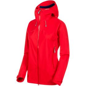 Mammut Kento HS Hooded Jacket Damen ruby